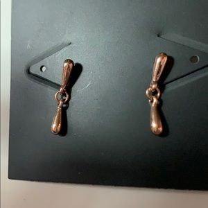 Rebecca Minkoff Jewelry - Rebecca Minkoff Rose Gold Earrings New With Tags